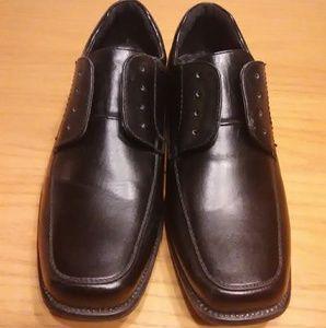 Drexlite Boy's Black Dress Shoes Size 5M